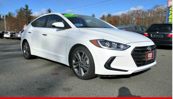 Used 2017 HYUNDAI ELANTRA LIMITED
