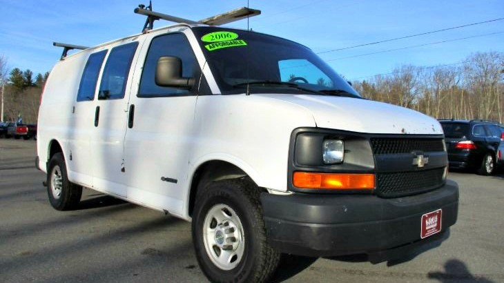 Used 2006 CHEVROLET EXPRESS CARGO