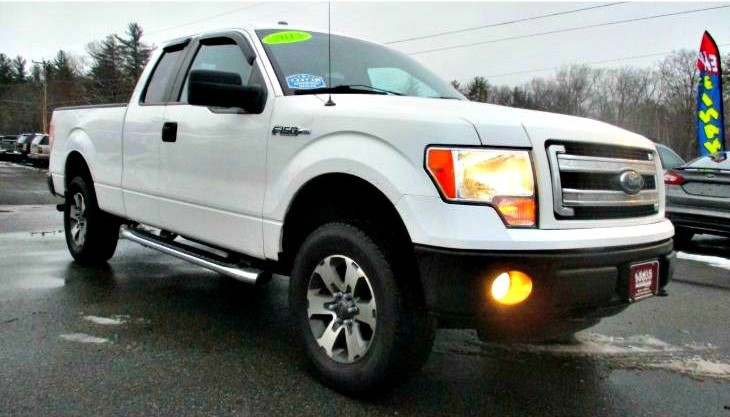 Used 2013 FORD F-150 STX