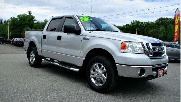 Used 2008 FORD F-150 XLT 4WD