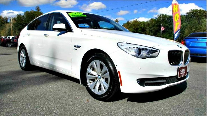 Used 2011 BMW 5 SERIES GRAN TURISMO