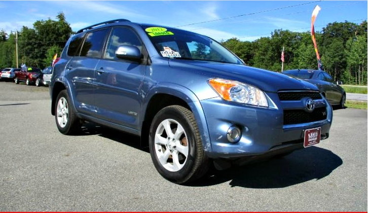 Used 2012 TOYOTA RAV4 LIMITED